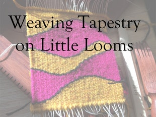 Weaving Tapestry on Little Looms icon