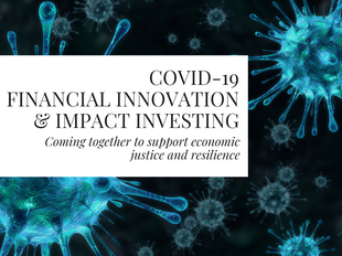 COVID-19 Financial Innovation and Impact Investing icon