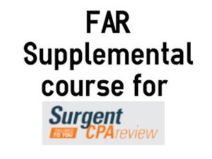 FAR: Surgent Supplemental Course icon