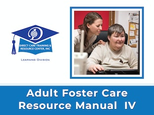 Adult Foster Care Resource Manual IV icon