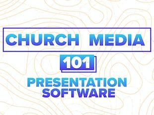 Church Media 101: Presentation Software icon