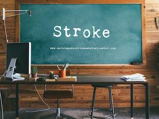 Stroke Study Whiteboard icon