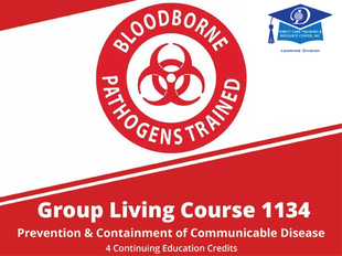 Residential Care Course 1134 - Prevention and Containment of Communicable Disease icon