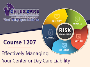 CEU 1207 - Effectively Managing Your Center or Home Day Care Liability icon