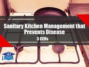 Foster Care and Adult Day Care Course 1124 - Sanitary Kitchen Management that Prevents Disease icon