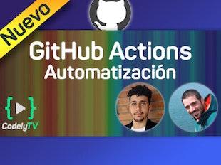 Automatiza tu flujo de trabajo con GitHub Actions icon