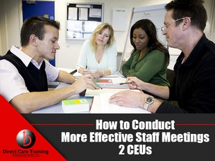 National Care Delivery: How to Conduct More Effective Staff Meetings icon