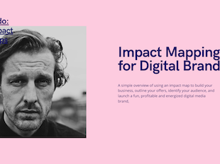 How to Create an Impact Map  (for Digital Brands) icon
