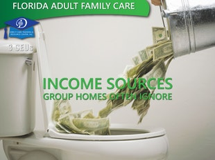 Florida Adult Family Care - Income Sources Group Homes Ignore (3 CEUs) icon