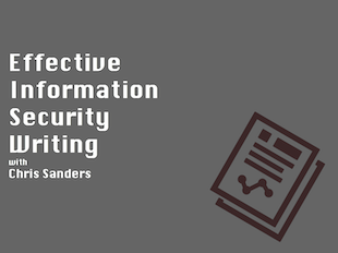 Register for Effective Information Security Writing from Applied Network Defense icon