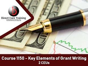 Key Elements of Grant Writing icon