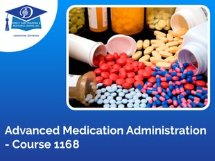 Advanced Medication Administration:  Residential Care - 10 CEUs icon