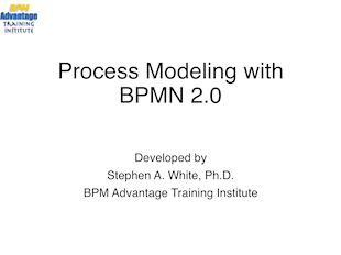 Process Modeling with BPMN 2.0 icon