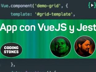 Crea una app con VueJS y Jest aplicando TDD icon