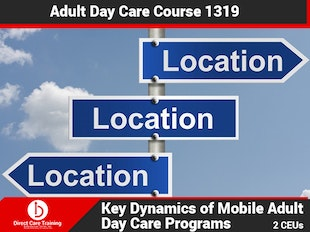 Adult Day Care Course 1319 - Mobile Adult Day Care icon