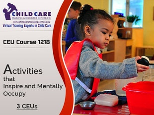 CEU Course 1218 - Activities that Inspire and Mentally Occupy icon