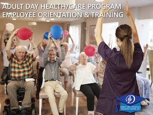 Adult Day Health/Care Program Employee Orientation & Training - Subscription Version icon