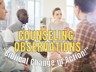 """Counseling Observations Course: """"Biblical Counseling & Change in Action!"""" icon"""