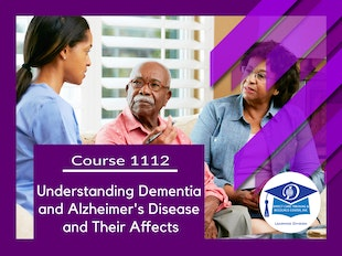 Course 1112 - Understanding Dementia and Alzheimer's and How They Affect Sufferers icon