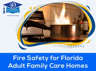 Fire Safety for Florida Adult Family Care Homes - 3 CEUs icon