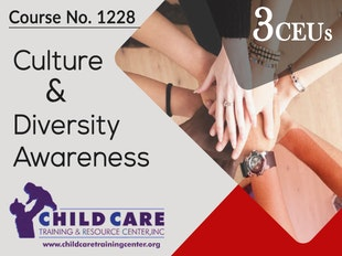 CEU 1228 - Culture and Diversity Awareness: Their Role in Quality Programming icon