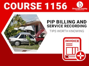 Course #1156 - PIP Billing and Service Documentation icon
