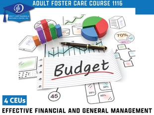 Group Living Course 1116 - Adult Foster Care Effective Financial, Administrative & General Management icon