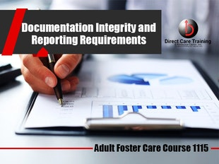 Group Living Course 1115 - Reporting Requirements and Documentation Integrity icon