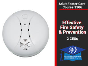 Effective Fire Safety & Prevention in Group Homes Course 1106-2 CEUs/3 CEUs icon