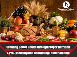 Group Living Course 1110 - Creating Better Health through Proper Nutrition icon
