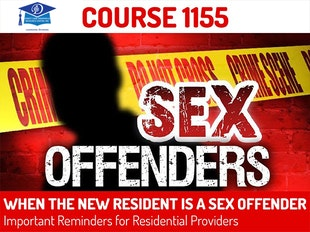 Course #1155 - When The New Resident is A Sex Offender icon