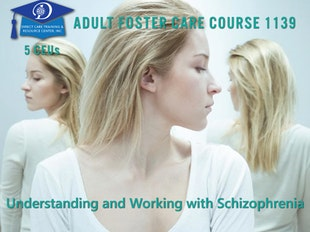 Group Living Course 1139 - Understanding and Working with Schizophrenia icon
