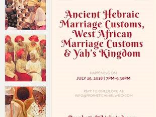 Ancient Hebraic Marriage, West African Marriage & Yah's Kingdom icon