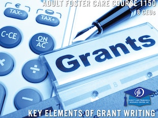 Course 1150 - Key Elements of Grant Writing - 8 CEUs icon