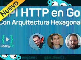 API HTTP en Go aplicando Arquitectura Hexagonal icon