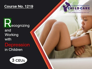 CEU 1219 - Recognizing and Working with Depression in Children icon