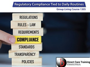 Adult Day Care Course 1305 - Regulatory Compliance icon