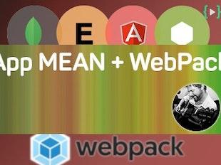 Crea una app MEAN profesional con AngularJS y Webpack icon