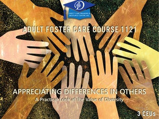 AFC Course 1121 - Appreciating Differences - Culture & Diversity icon