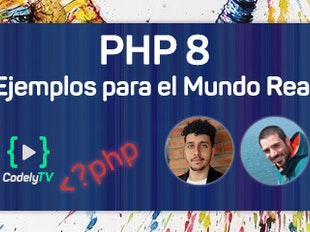 PHP 8: Novedades y ejemplos para el Mundo Real™️ icon