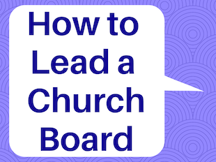 How to Lead a Church Board icon