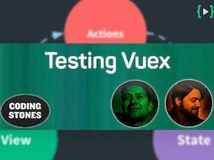 Testing unidirectional dataflow con Vuex y Jest icon