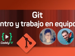 Git: Introducción y trabajo en equipo icon