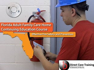 Florida Adult Family Care - Effective Fire Safety icon
