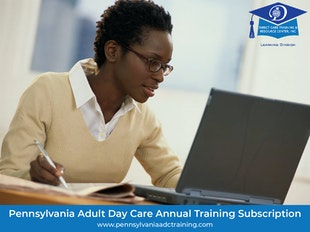 Pennsylvania Adult Day Care Pre-Licensing, Ongoing Staff Development and Annual Continuing Education Training Package icon