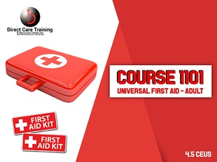 Course 1101 - Universal First Aid icon
