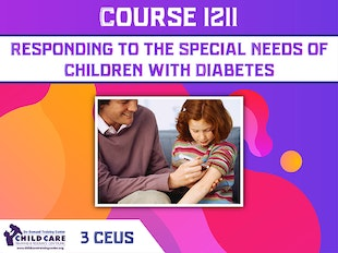 Ceu Course 1211 - Responding to the Special Needs of Children with Diabetes icon