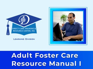 Adult Foster Care Resource Manual I - 16 Continuing Education Credits (Being updated February/March 2020) icon