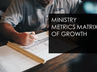 Register for Ministry Metrics Matrix of Growth from SOLUM COMMUNITY icon