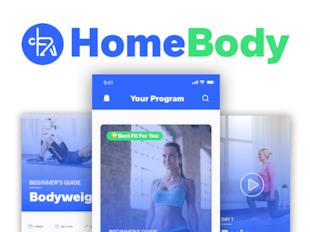 HomeBody: Fitness App Challenge - Bitesize UX icon